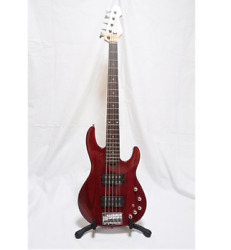 Esp Ap Sl-5 Ap Series 5 String Red Electric Bass Guitar Shipped From Japan