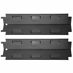2 X Gas Grill Heat Plate Stainless Steel Bbq Heat Tent Replacement For Charbroil