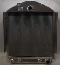 1934 Plymouth Aluminum Radiator With Automatic With Fan And Condenser