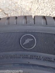 Nos New 2008-2009 Ford Mustang Shelby Gt500kr Goodyear Eagle F1 Tire Set Oem