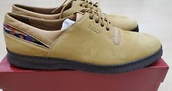 New Super Rare Vintage Bally Mens Casual Shoe Nubuck Leather Size 10