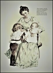 Maud Humphrey | Baby's Surprise Maud With Her Son And One Of His Baby Sister