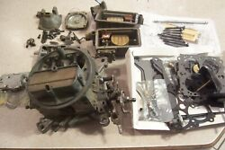 Complete Disassembled Holley 1850-2 600 Cfm Vacuum Secondary With New Kit++