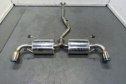 Trust Greddy Cs-gt Catback System For Rx-8 Inc R3 Exhaust For Mazda Rx8 2004-08
