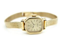 Rolex Orchid 18ct Gold Ladies Manual Wind Watch