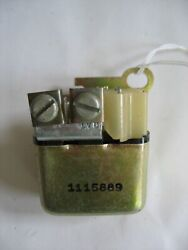 New Nos Gm 1966-67 Chevy Camaro Corvette Chevelle Horn Relay 1115889 And039assy Lineand039