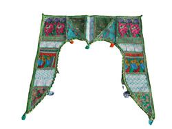 Gate Topper Indian Traditional Toran Door Hanging Valance Embroidered Handmade