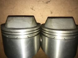 Harley Davidson Axtell Forged Pistons Sportster Iron Head 74-4