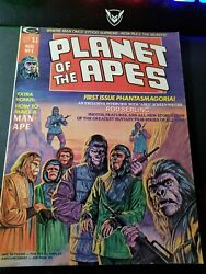 Planet Of The Apes 1 Vf/nm 9.0 Magazine August 1974
