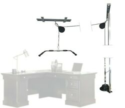 Deskerxizer Kit Over Desk Weight Lifting Office Workout Machine