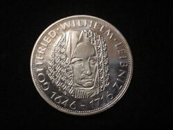 German Federal Republic 1966d 5 Mark Coin, Proof Condition, Km 119.1