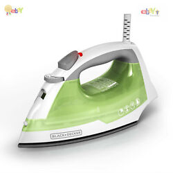 Steam Iron Home Clothes Smart Easy Anti Drip Compact Handheld W Non Stick Plate