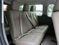 Brand New Never Used 2020 Nissan Nv3500 2nd Or 3rd Row Bench Seat Grey Leather