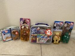 Ty Collectible Beanie Babys 1994,1997, 1996, 1999