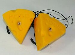 Koss Cheese Headphones In A Can Nfl Green Bay Packers Novelty Cheese Head