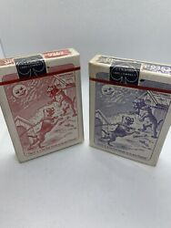 Vintage Bull Dog Squeezer Playing Cards With Case - Rare And Sealed