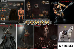 Mezco Conan The Barbarian Lot Horse Red Sonja Death Dealer 26 Figures In All
