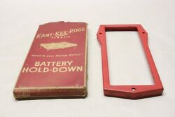 Nos 1956 Ford Fairlane Kant-ker-rode Accessory 12v Battery Hold-down Fd4