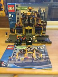 Lego 4513 9v Train Grand Central Station World City 100 Complete Stickers 2003