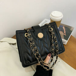 Women Shoulder Bag Tote Girls Fashion PU Leather Handbag Crossbody Messenger $15.38