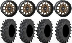 System 3 St-5 Bronze 14 Wheels 32 Outback Max Tires Can-am Maverick X3