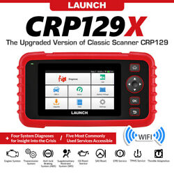 Launch X431 Crp129x Epb Sas Tpms Oil Reset Code Reader Auto Abs Srs Scanner Tool