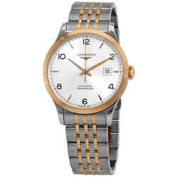 Longines Record Automatic Silver Dial Ladies Watch L2.821.5.76.7