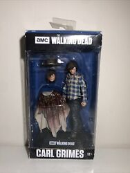 Carl Grimes Brand New Mcfarlane Toys Walking Dead 15 Color Tops Action Figure
