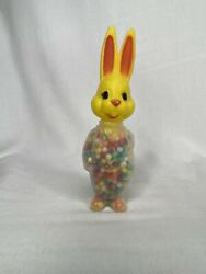 Hong Kong Easter Plastic Bunny Rabbit Candy Container With Original Candy