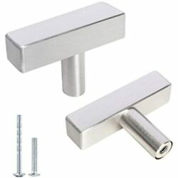 Kasten 5 Pack Single Hole Drawer Pulls Nickel Stainless Steel Cabinet And Knobs