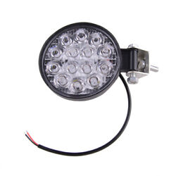 42w Round Led Work Light Spot Lights Fit For Truck Off Road Tractor Atv