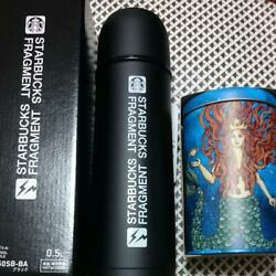 Starbucks X Fragment Stainless Bottle 500ml And Anniversary 2017 Canister Can Set