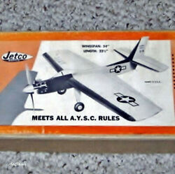 Jetco Kit Plans: Sabre Sonic X 4 Profile for .15 to .25