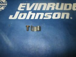 Johnson Evinrude 316014 326439 302812 Timerbase Clamp And Screw Many Yrs 4 And 6 Cyl