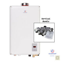 Eccotemp 45hi-ngv Water Heater 6.8 Gpm And 4 Vertical Vent Kit Us Seller