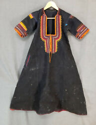 Antique Rare Traditional Folk Balkan Womanand039s Costume Upper Dress From Radomir