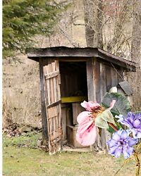 Outhouse Bathroom Decor Wv West Virginia Home Decor Photo Picture 8x10 Wall Art