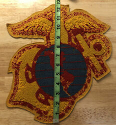 Us Marine Corps Vietnam War In Country Handmade Large Jacket Patch Eagle Globe