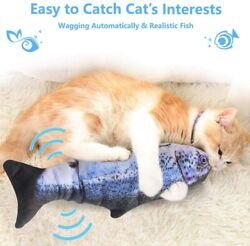 Realistic Interactive Cat Toy Electric Flipping Fish Dancing Cat Kicker Pet Gift