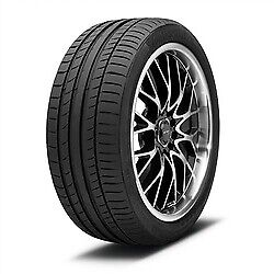 255/40r19 96w Con Sport Contact 5 Fr Ssr Tire Set Of 4
