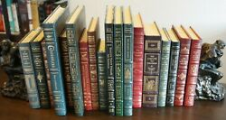 Easton Press Library Of Fly-fishing Classics 18 Leather-bound Volumes