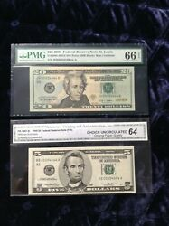 19992009 520 Fancy Low Numbers 00004444 Double Quad Set Rare-only One Set