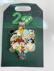 20th Anniversary Pin Trading Event Duck Tales Le750 Disney Pin B
