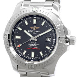 Free Shipping Pre-owned Breitling Colt Japan Limited 400 Pieces A17388