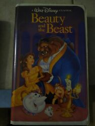 Beauty And The Beast Vhs 1992 Deluxe Edition