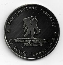 Token Wounded Warrior Project 38mm Nickel