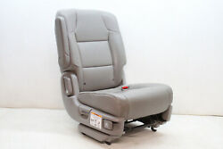 2015 Honda Odyssey Second Row Right Seat Gray Leather Oem 11 12 13 14 15 16 17