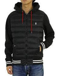 Polo Packable Type Down Hooded Jersey Jacket