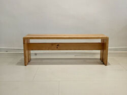 Bench By Charlotte Perriand / Banc Pour Les Arcs