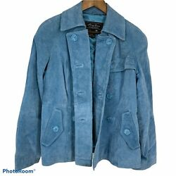 Terry Lewis Classic Luxuries Suede Leather Jacket Size S